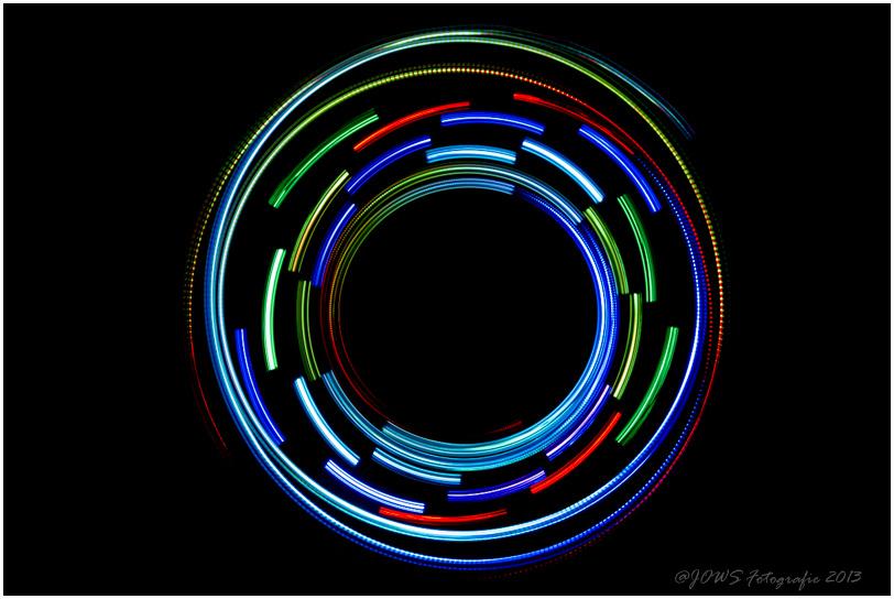 Lichttests im Studio