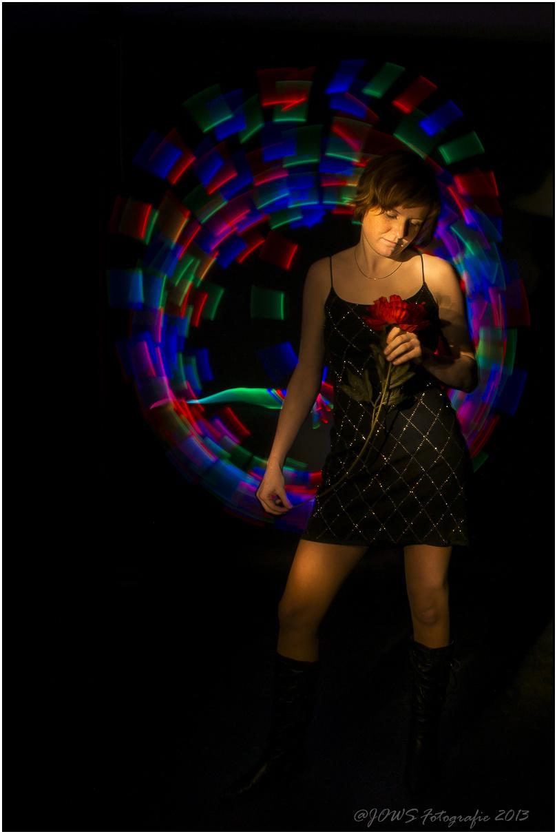 Lightpaintingvortrag beim Fotostammtisch
