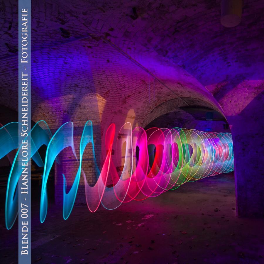 Fotoausstellung mit Lightpaintings aus einem meiner Workshops