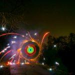Feuerwerkstest an Silvester